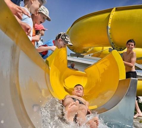 Aquapark basen