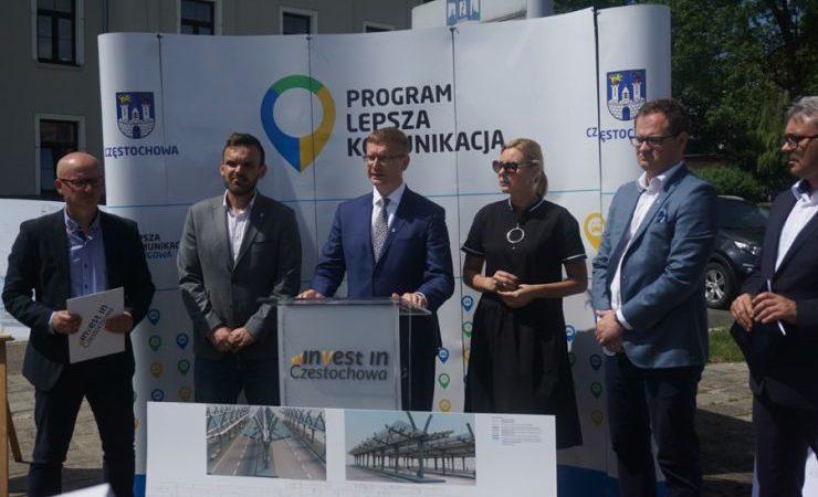 27,5 mln zł dla Częstochowy na budowę węzłów przesiadkowych