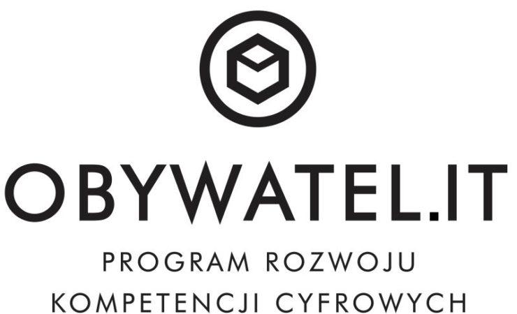 Rusza projekt OBYWATEL.IT.