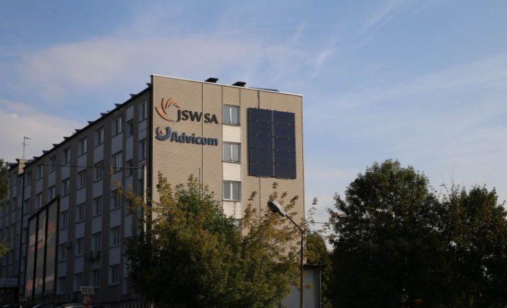 JSW: Elektrownia słoneczna na dachu