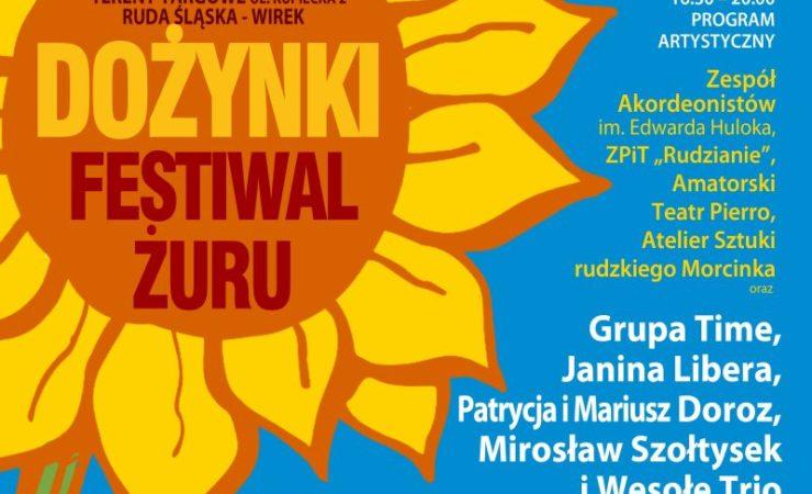 Dożynki Miejskie i Festiwal Żuru w Rudzie Śląskiej
