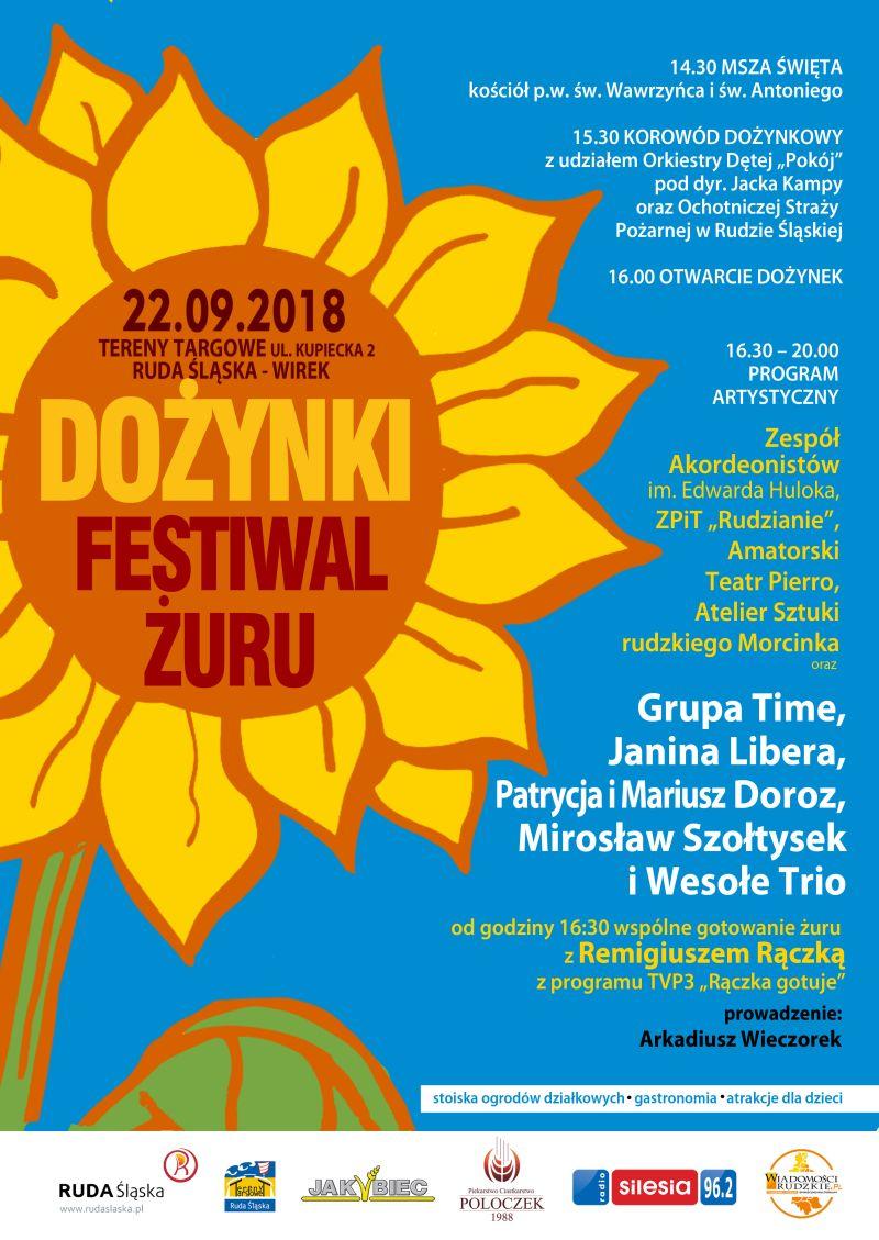 Dożynki Miejskie I Festiwal żuru W Rudzie śląskiej Kapital