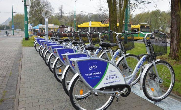 Tyski Rower Miejski rusza 1 kwietnia