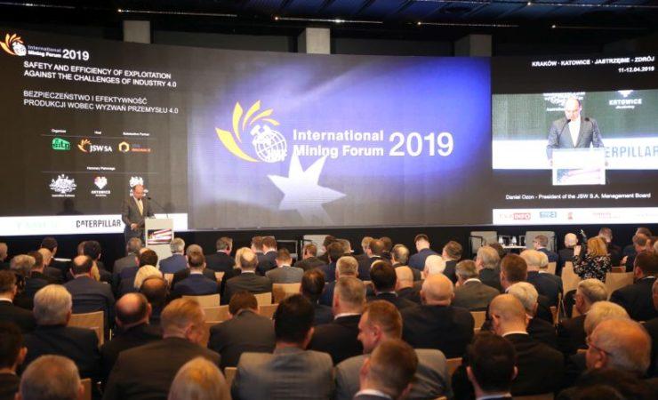IMF 2019 – International Mining Forum – dzień pierwszy
