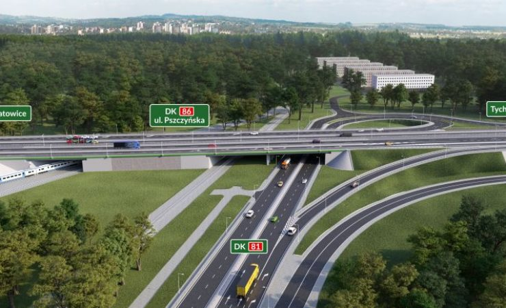 Przebudowa DK81 w Katowicach – od 27 maja duże zmiany w organizacji ruchu