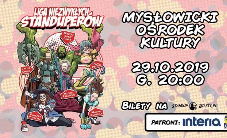Liga Niezwykłych Standuperów w Mysłowicach