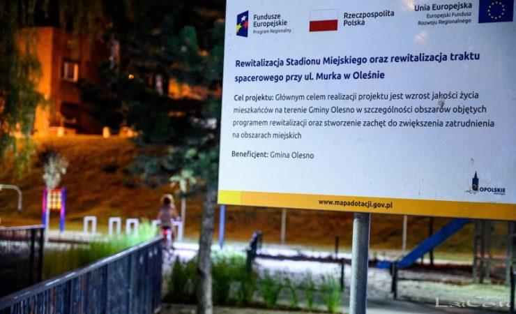Olesno: Rewitalizacja obiektów przestrzeni publicznej